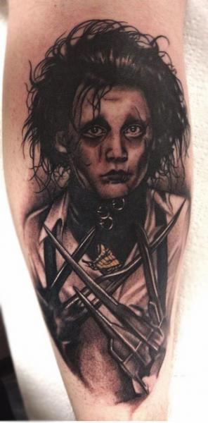 Arm Fantasy Portrait Tattoo by Black 13 Tattoo