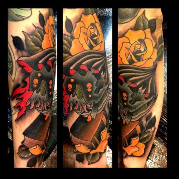Old School Tattoo by Black 13 Tattoo