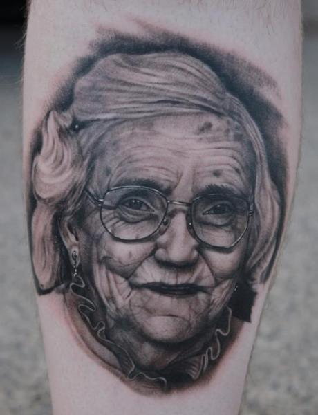 Portrait Realistic Women Tattoo by Black 13 Tattoo