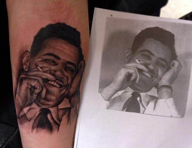 Portrait Realistic Tattoo by Black 13 Tattoo