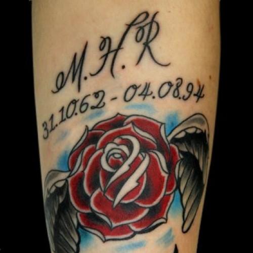 Flower Tattoo by Bohemian Tattoo Arts