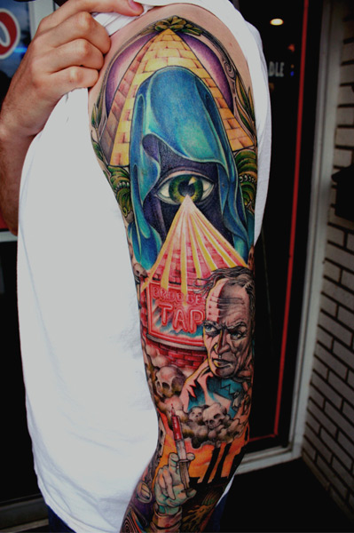 Arm Tattoo von Bugaboo Tattoo