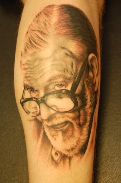 Arm Portrait Realistic Tattoo by Cartel Ink Works