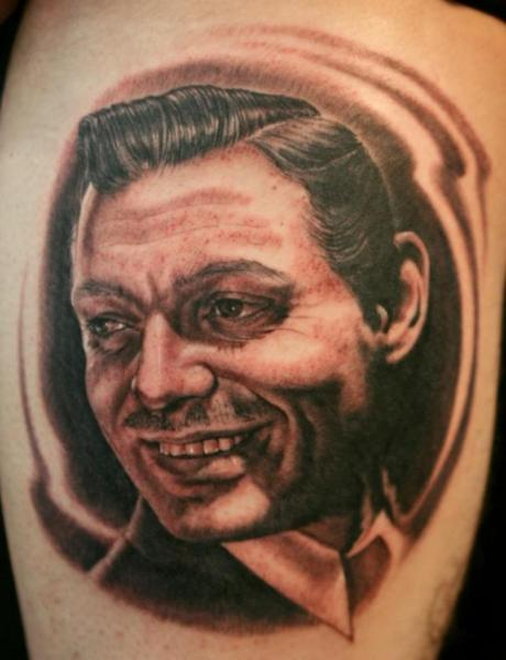 Portrait Realistic Tattoo by Cartel Ink Works