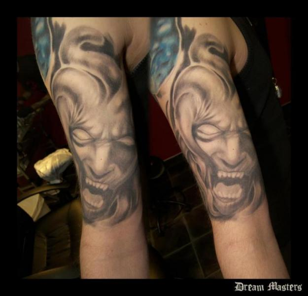 Arm Demon Tattoo by Dream Masters