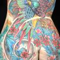 Japanese Back Phoenix tattoo by Eye Of Jade Tattoo