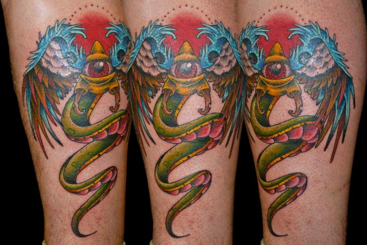 Tatuaje Fantasy Ternero por Eye Of Jade Tattoo
