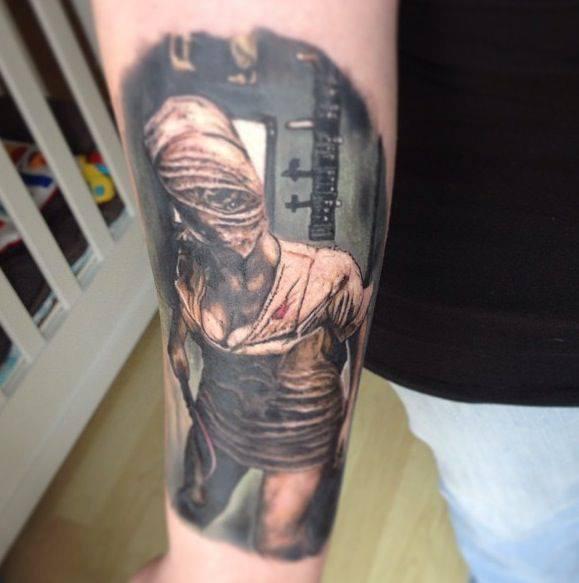 Arm Fantasy Nurse Tattoo by Fixed Army