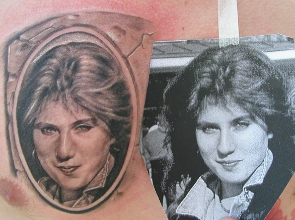 Portrait Realistic Tattoo by Bloody Blue Tattoo