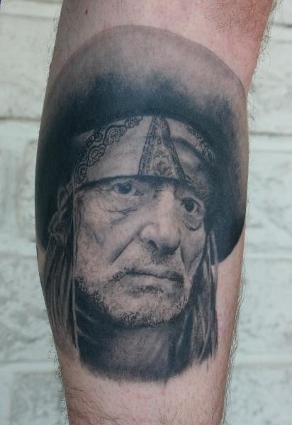 Tatuaż Portret Realistyczny Przez Hb Tattoo