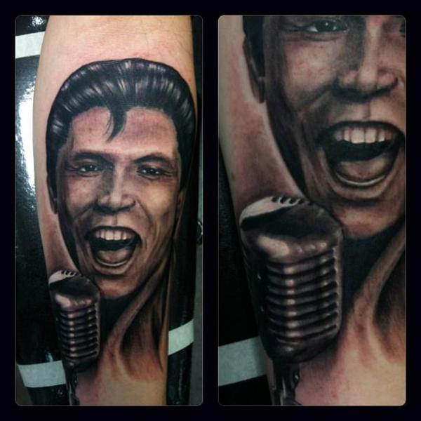 Arm Portrait Realistic Tattoo by Industry Tattoo