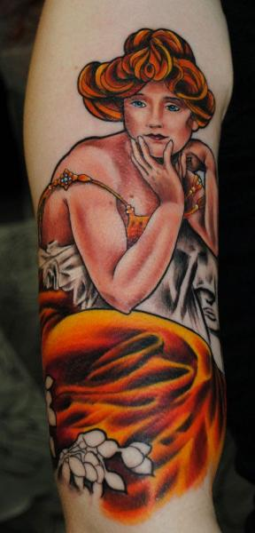 Arm Women Tattoo by Industry Tattoo