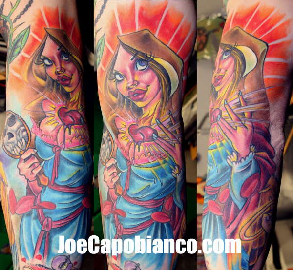 Arm Women Tattoo by Joe Capobianco