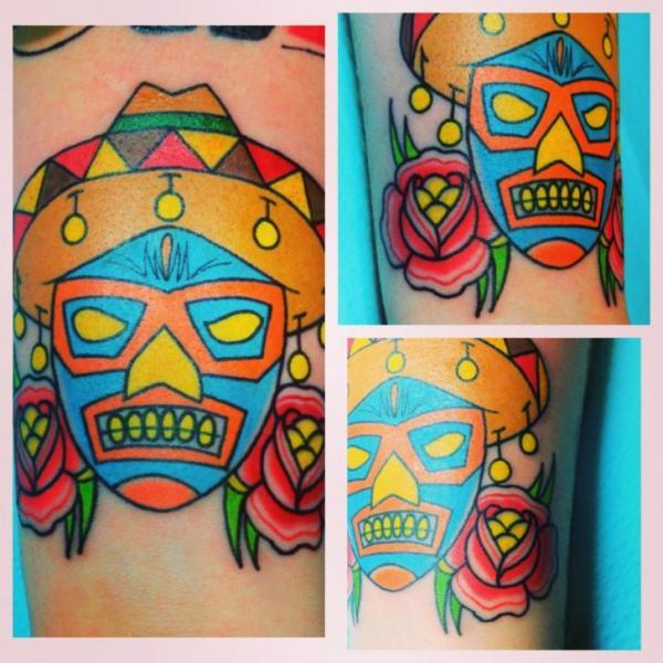 Tatuaje Brazo Personaje por Liquid Chaos Tattoos