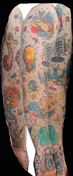 Arm Fantasy Tattoo by Liquid Chaos Tattoos