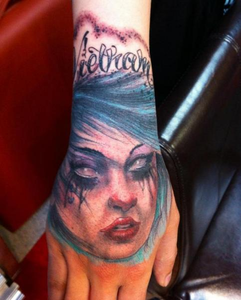 Arm Women Tattoo by Matthew Hamlet Tattoo