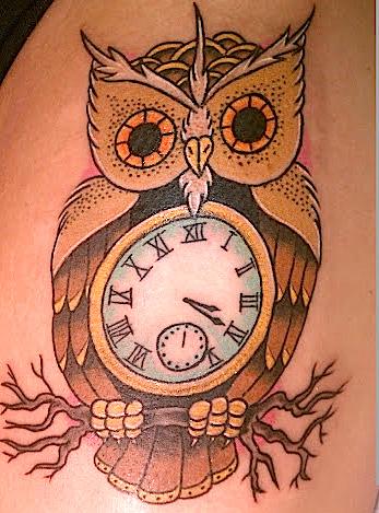 Tatuaje Búho por Memorial Tattoo