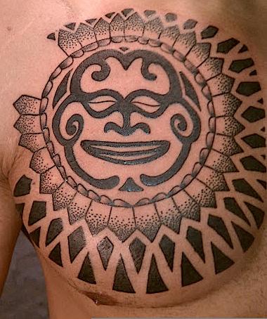 Tribal Geometric Tattoo by Memorial Tattoo