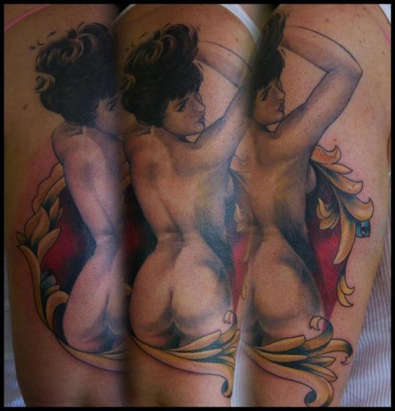 Arm Realistische Frauen Tattoo von Nightmare Studio