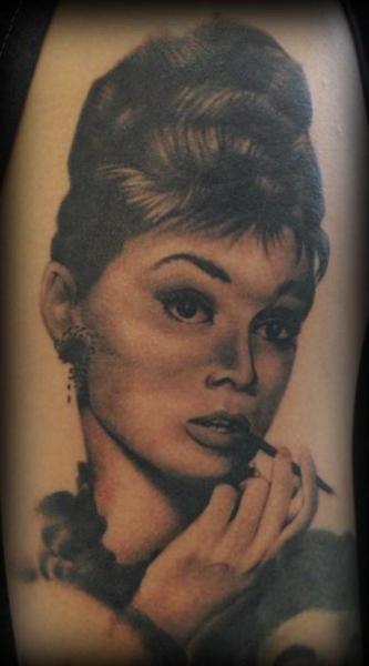Portrait Realistic Tattoo by Nightmare Studio