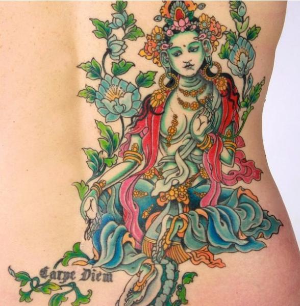 Side Tattoo by NY Adorned