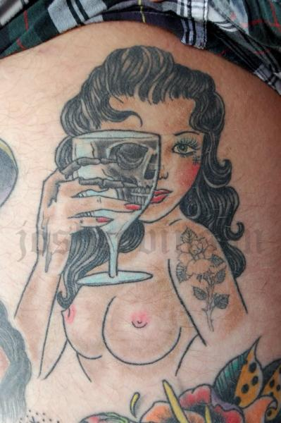Tatuajes Pin Up pin-up tattooobscurities tattoo