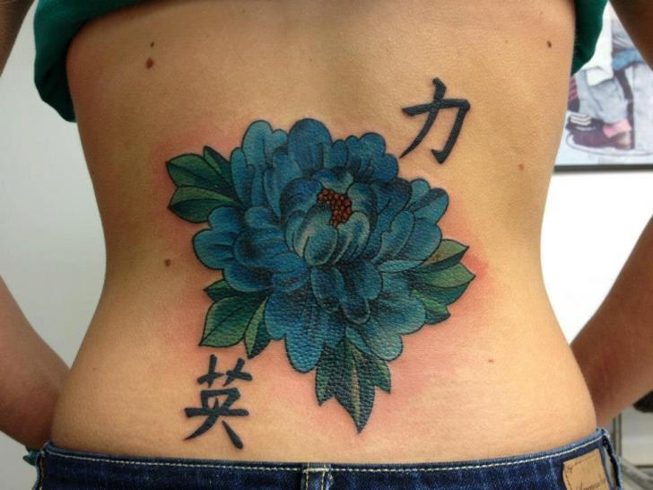 Tatouage Fleur Retour Par Sakura Tattoos