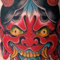 Japanese Demon tattoo by Salvation Gallery
