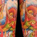 Japanese Dragon tattoo by Club Tattoo
