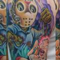 Schulter Fantasie Monster tattoo von The Blue Rose Tattoo
