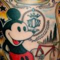 tatuaggio Braccio Fantasy Topolino di Czi Tattoo Studio