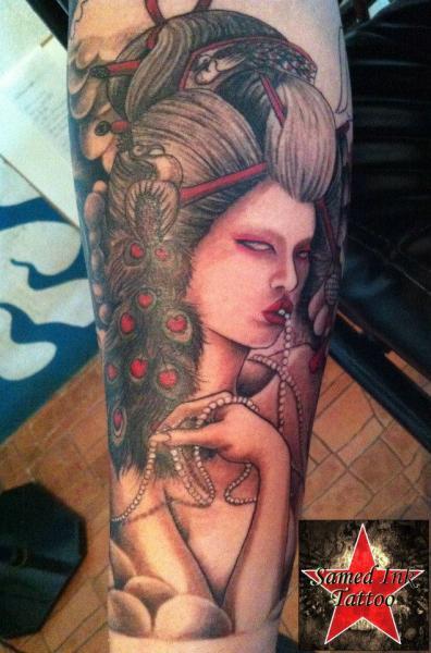 Arm Women Tattoo by Samed Ink Tattoos