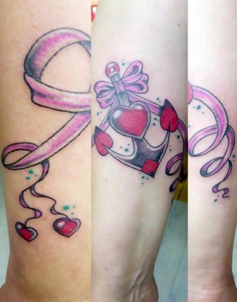 Fantasy Anchor Tattoo by Bubblegum Art