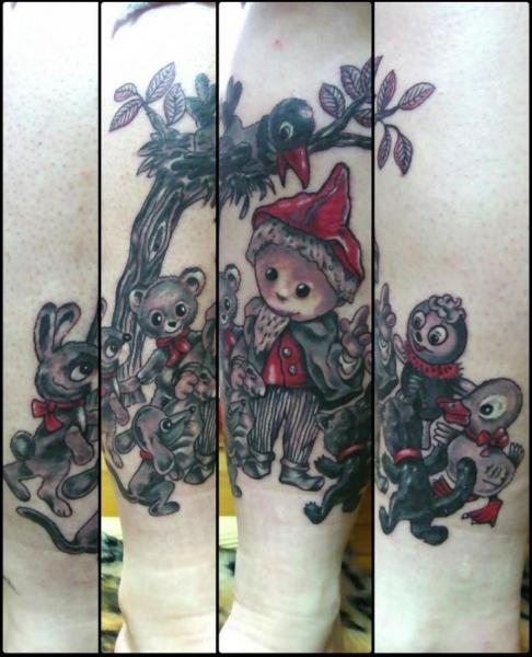 Fantasy Tattoo by Bubblegum Art