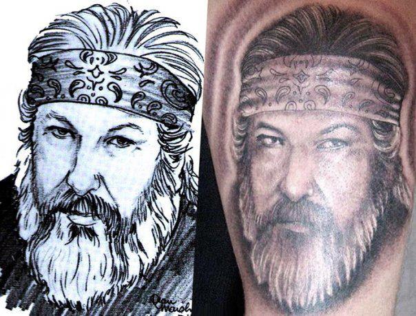 Porträt Tattoo von Andys Tattoo