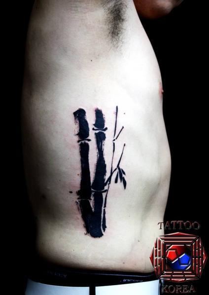 Seite Tattoo von Tattoo Korea