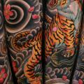 Arm Japanese Tiger tattoo by Seoul Ink Tattoo