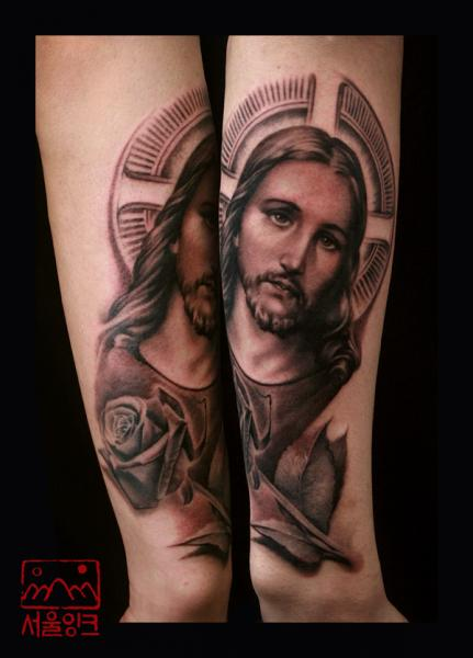 Arm Religious Tattoo by Seoul Ink Tattoo