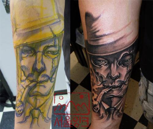 Arm Fantasy Tattoo by Seoul Ink Tattoo