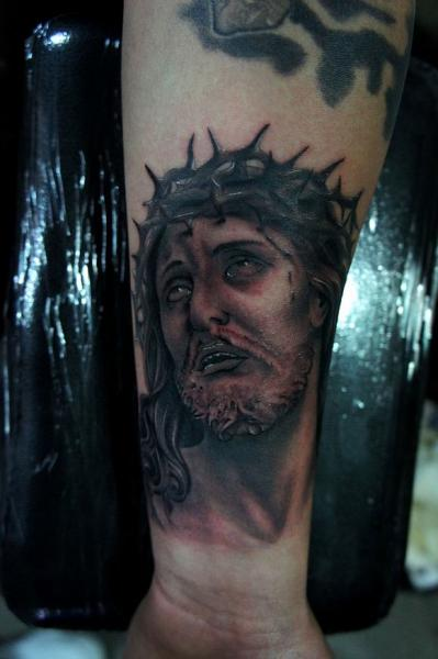 Arm Religious Tattoo by Og Tattoo