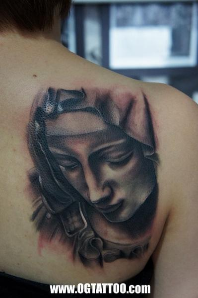 Shoulder Realistic Tattoo by Og Tattoo