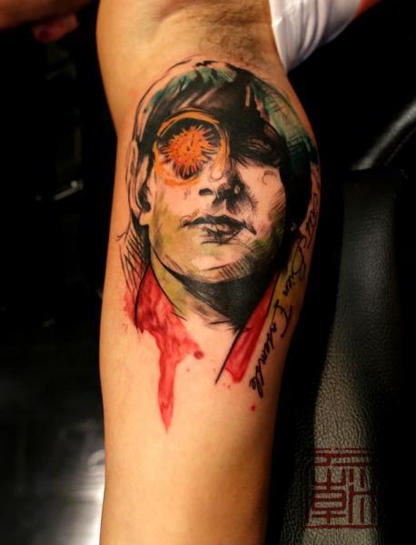 Tatuaggio Braccio Fantasy di Tattoo Temple