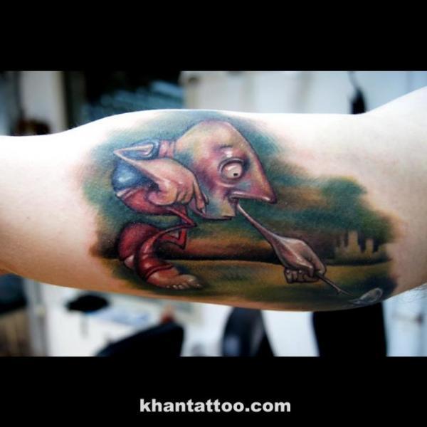 Arm Fantasie Tattoo von Khan Tattoo