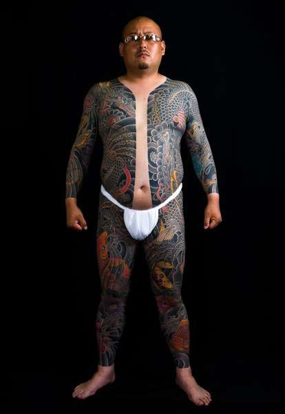 Japanese Body Tattoo by Horiyasu Tattoo