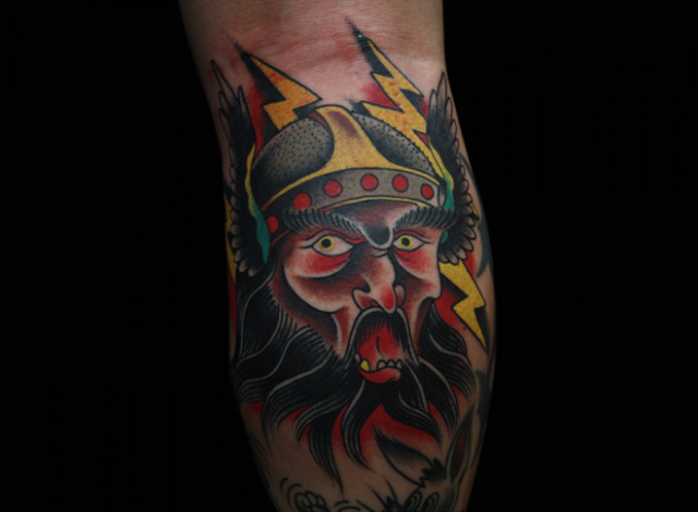Old School Krieger Tattoo von Inkrat Tattoo