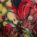 Fantasy Back Devil tattoo by Koji Tattoo