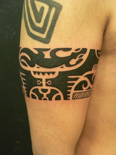 Tatuaje M tatuaje brazo tribal maori por m crow tattoo