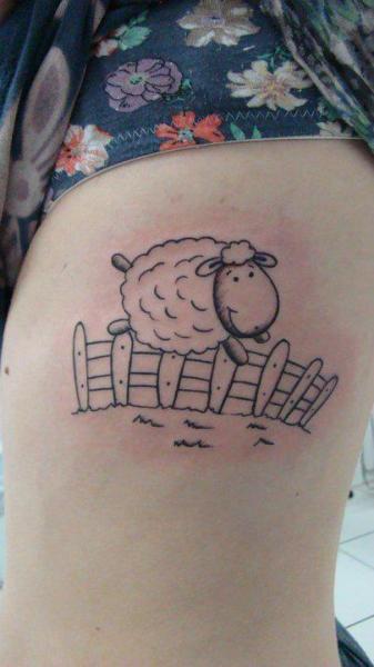 Fantasy Ship Draw Tattoo by Brasil Tatuagem