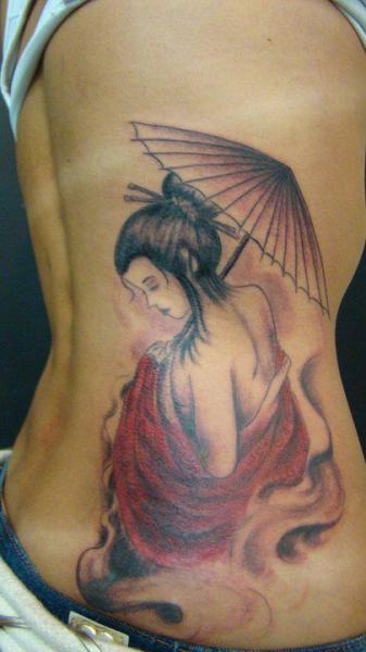 seite japanische geisha tattoo von brasil tatuagem. Black Bedroom Furniture Sets. Home Design Ideas