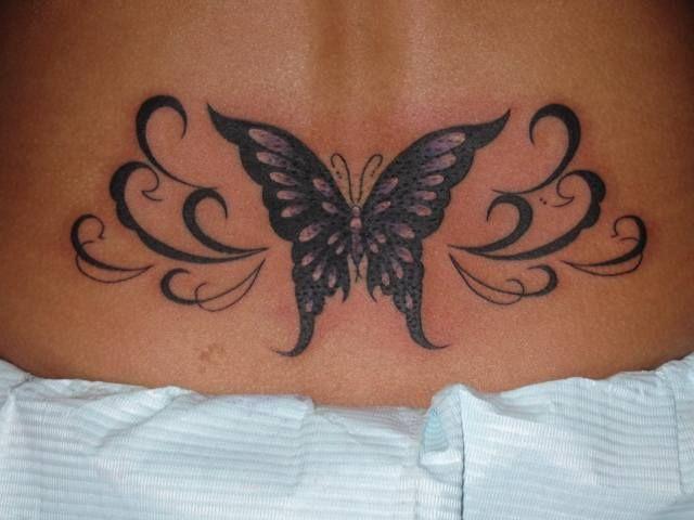 Tatuaje Espalda Mariposa Por Tattoo Hm
